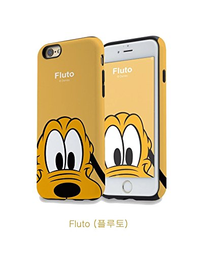 RONNEY'S MICKEY & FAMILY SOFT TPU Case for Apple Iphone 5 MICKEY PLUTO