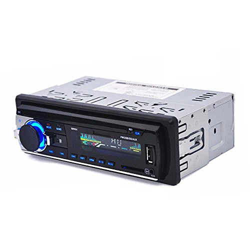 TOOGOO 1-DIN auto in-dash radio Bluetooth impianto stereo capo MP3 / USB / SD / AUX-IN / FM Giocatore
