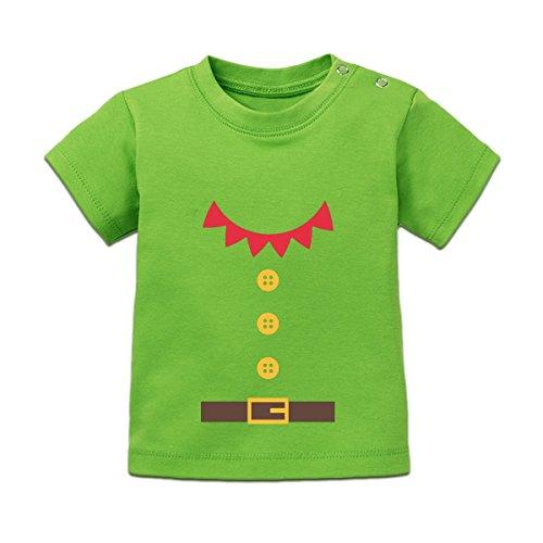 Santas Little Helper Costum Baby T-Shirt by Shirtcity
