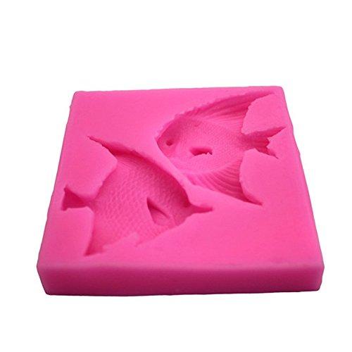 Nikgic Tropischer Fisch Fondant Kuchen Schimmel Kuchen Safe High Quality Silikon Schimmel Antihaft-Food Grade Silikon -