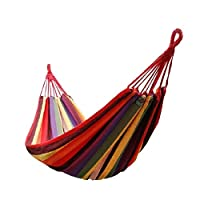 MYGARDEN Portable Outdoor Hammock Camping Relaxation Garden Beach Travel With Bag Colour May Vary