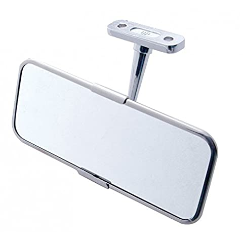 Car Truck Universal Interior Rearview Mirror / Classic Antique Chevy Ford Dodge by United Pacific