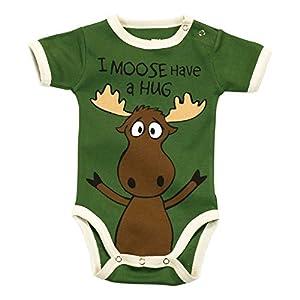 LazyOne Babystrampler I Moose Have a Hug
