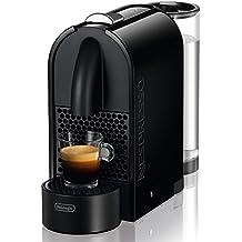 Nespresso U EN 110B, cafetera de cápsulas, 19 bares, DeLonghi, depósito modular, táctil, automática, color pure black