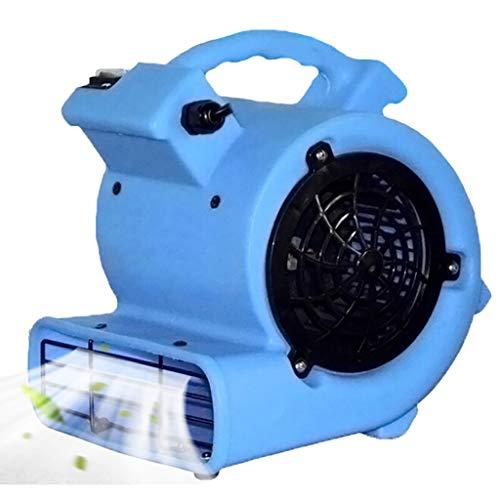 YiYi Blowers Mini soffianti/Ventilatore da Pavimento Durevole Leggero Mover Air Mover Dryer Ventilatore da Pavimento per detergente Professionale, Blu