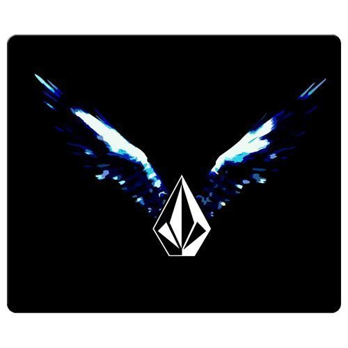 26x21cm / 10x8inch Mousepads smooth cloth & antiskid rubber 0 improved volcom famous top?brand logo
