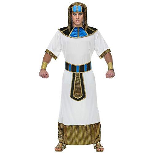 (Widmann 69454 Erwachsenenkostüm Pharao, Herren, Weiß)