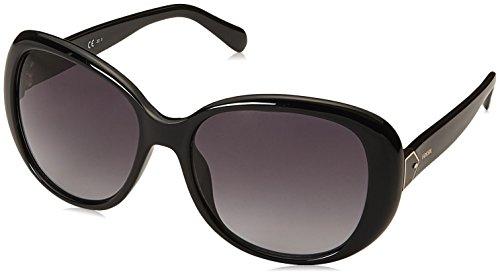 Fossil Herren FOS 3080/S Sonnenbrille, Schwarz (BLACK), 56