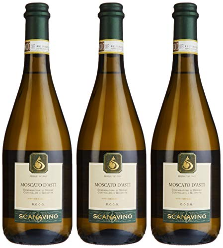 Scanavino Moscato d'Asti DOCG Süß 2016/2017 (3 x 0.75 l)