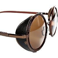 FreshGadgetz 1 Set di Occhiali da sole tondi stile Retro