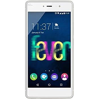 Wiko Fever 4G Smartphone, 16 GB, Dual SIM, Bianco