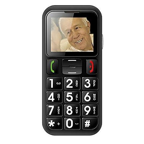 OEM Systems Company Téléphone portable pour personne âgée