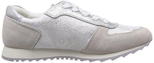 Dockers by Gerli 38ml202-206 Damen Sneakers Weiß (offweiss 510)