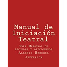 Manual de Iniciación Teatral