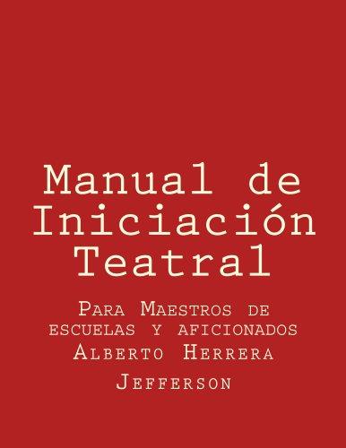 Manual de Iniciación Teatral