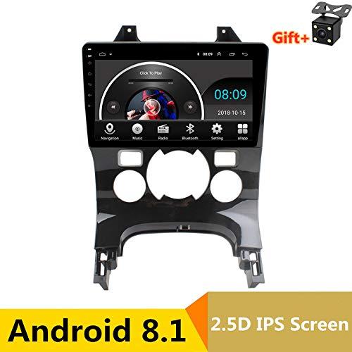 22,9cm 2.5d IPS Android 8.1Lecteur multimédia DVD de Voiture GPS pour Peugeot 3008201120122013-2016Audio de Voiture Radio stéréo Navigation