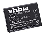 vhbw Li-Ion Akku 1500mAh (3.7V) für Handy Smartphone Telefon HTC Bliss, C510, Desire S, Saga, Salsa, Google G12, G15 wie 35H00152-00M, BA S530.