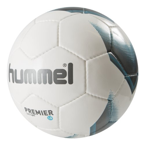 Hummel Unisex Fußball 1,0 Premier Light, white/light blue, 5