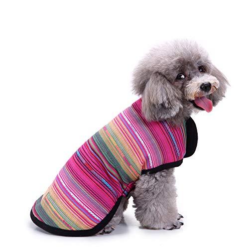 Smoro Autunno Inverno Cane Vestiti Gilet Giacca Caldo Cucciolo di Animali Domestici Abbigliamento Coperta Design per Cani di Taglia Piccola Media