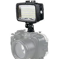 Orsda® Diving light High Power Dimmable Waterproof LED Video Light Fill Night Light Diving Underwater Light Waterproof for Gopro Hero 5/5S/4/4S/3+/2/SJCAM SJ4000/SJ5000/YI Action (60leds)
