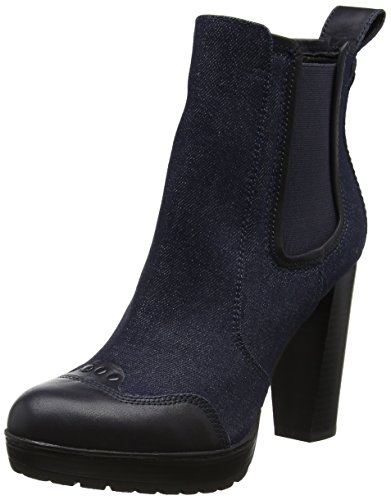 g star schuhe damen G-STAR RAW Damen Shona Chelsea Boots, Blau (Dk Navy), 37 EU
