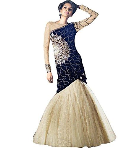 Fancy-Collection-Net-Velvet-Party-Wear-Gown-Cum-Dress-Material-FC113Floor-LengthFree-Size