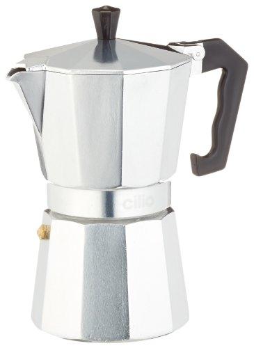 Cilio 320619 Espressokocher \'Classico\' 6 Tassen