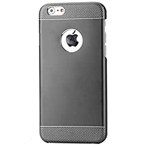 Ultra thin Aluminum iPhone 6 Metal Case Colorful Shockproof Mirror Bumper Case Cover for iPhone 6 / 6s (5.5- Inch) - Grey