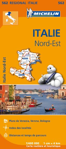 Carte Italie Nord-Est Michelin par Collectif MICHELIN