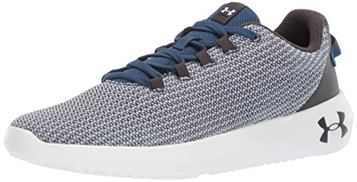 Under Armour Ripple, Scarpe Running Uomo, Blu (Petrol Blue/MOD Jet Gray 403), 42.5 EU