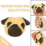 TAOtTAO Exquisite Fun Crazy Dog duftenden Squishy Charme langsam Steigende 8cm Simulation Kid Spielzeug