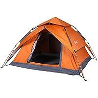 Sekey Automatik Camping Zelt Hydraulik   Wasserdichtes Außenzelt faltbar   Drei-Jahreszeiten-Familien-Dome-Zelt Instant Pop Up Zelt für 3-4 Person mit Tragetasche, 230 * 200 * 140cm