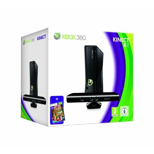 CyberTec PRÄSENTIERT: Xbox 360 - Konsole Slim 4 GB Kinect Bundle incl. Kinect Adventures + Need for Speed Hot Pursuit Limited Edition (Versandkostenfrei)(Versandkostenfrei)