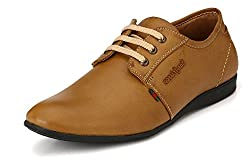 San Frissco Mens Tan Derby Shoes - 10 UK