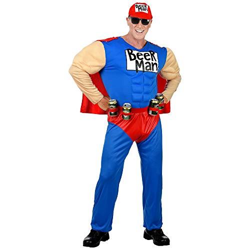 WIDMANN WIDC025749 Beer Man Kostüm, Herren, Multicolor, XL (Herren Duffman Kostüm)