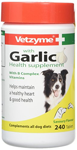 Vetzyme Garlic Tablets, 240 Tablets