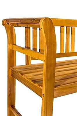 SAM Gartenbank Samos, Akazien-Holz geölt, FSC® 100% zertifiziert, Holzbank, massives Garten- & Balkonmöbel von SAM auf Gartenmöbel von Du und Dein Garten