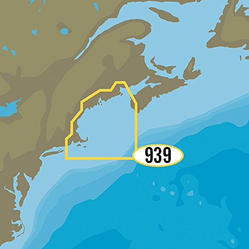C-MAP MAX-N+ NA-Y939 - Passamaquoddy Bay to Block Island (Passamaquoddy Bay)