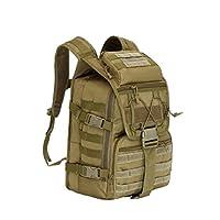 z & N Military kamuflaj sırt çantası 40l kapasite yüksek kaliteli su geçirmez naylon dış mekan seyahat kamp Dağcılık sırt çantası askeri Taktik paket deve saldırı Omuz Çantası Laptop okul çanta