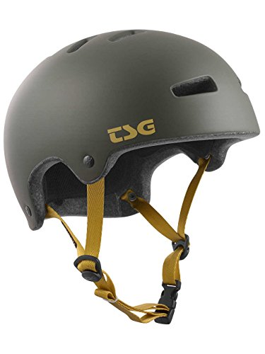 TSG Erwachsene Superlight Solid Color Helm, Satin Stone Green, L/XL