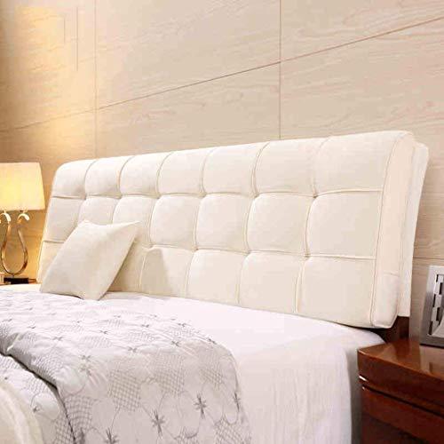 Glp letto in tessuto soft pack letto matrimoniale soft pack cuscino per letto cuscino per schienale grande (color : b, size : 185cm)