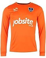 Mens Sondico Portsmouth Home Goalkeeper Shirt 2015 2016