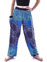 b3432e3e560c Battercake Pantaloni di Yoga Uomini Uomini India Tailandesi Donne Casuale Harem  Pants Boho Festival Hippie Smock