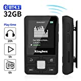 MP3 Player 32GB with BT 4.1 Supports TF up to 128GB, HIFI Sound