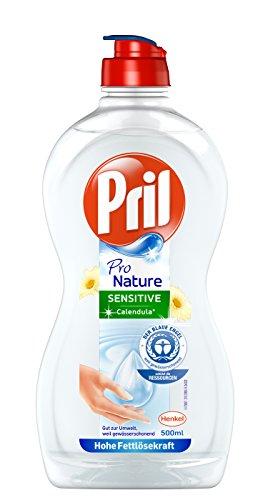 Pril Pro Nature Sensitive Calendula, Handgeschirrspülmittel (hohe Fettlösekraft, umweltfreundlich, angenehm frischer Duft), 500 ml