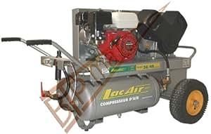 Lacme - Compresseur Thermique à Piston De Chantier 40 Litres