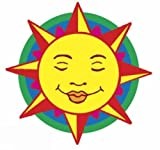 Shiny Sun, Moon and Stars Stickers (Dover Little Activity Books Stickers)