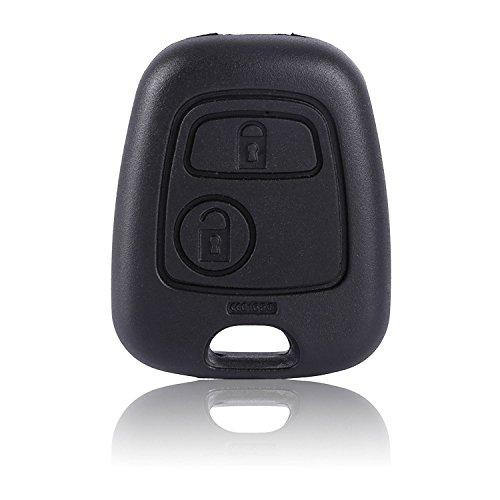 Chytaii Auto Schlüsselgehäuse Auto Fernbedienung Klappschlüssel Ersatz für Peugeot und Citroen