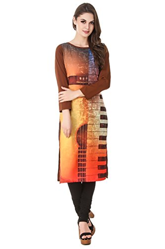 Mastani Kreation Black Kurti Solid With Red Buttons(5MKi99-XS)