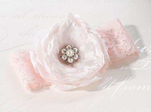 Erröten Rosa Strumpfband